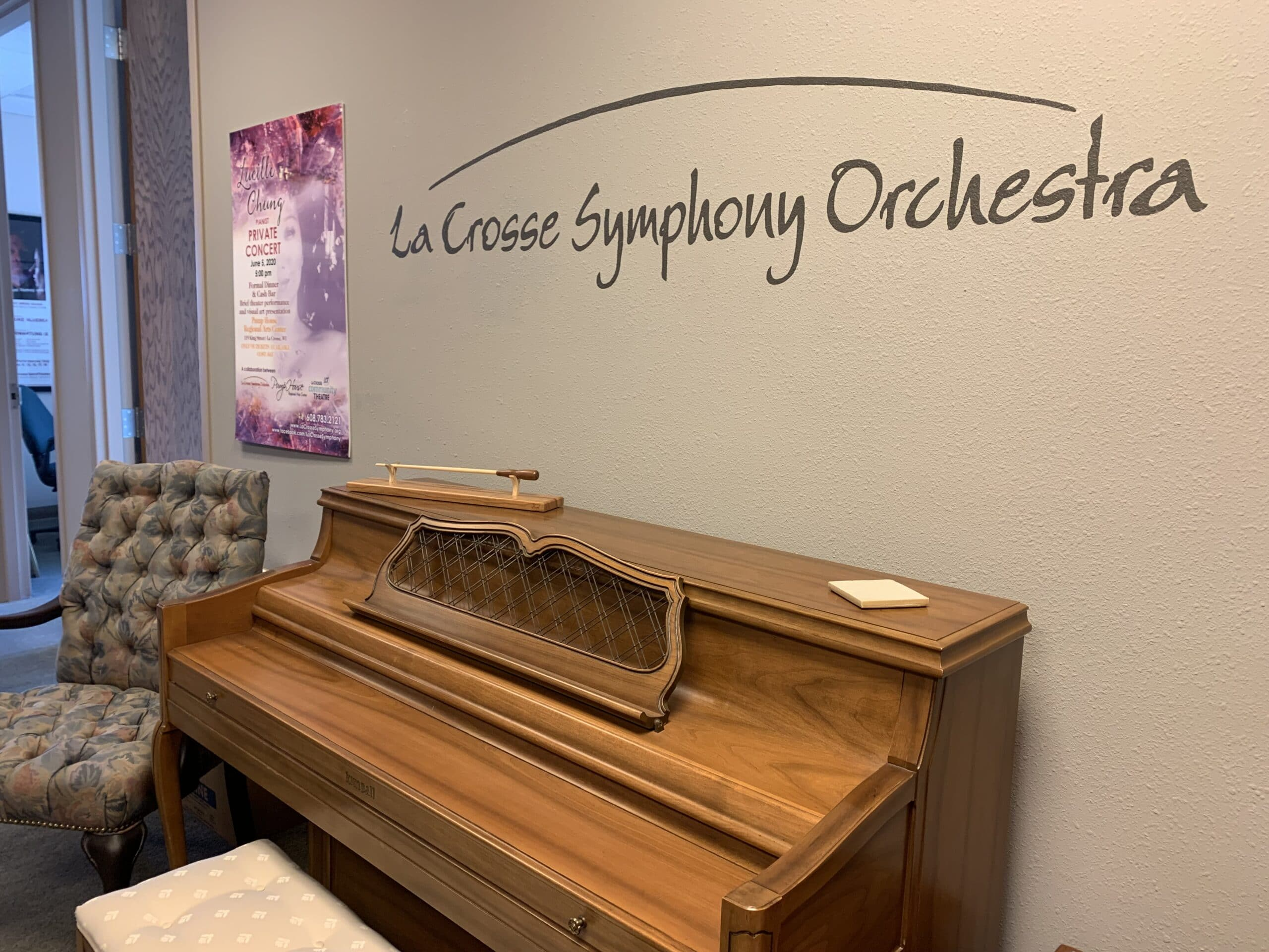 LSO Office image with piano